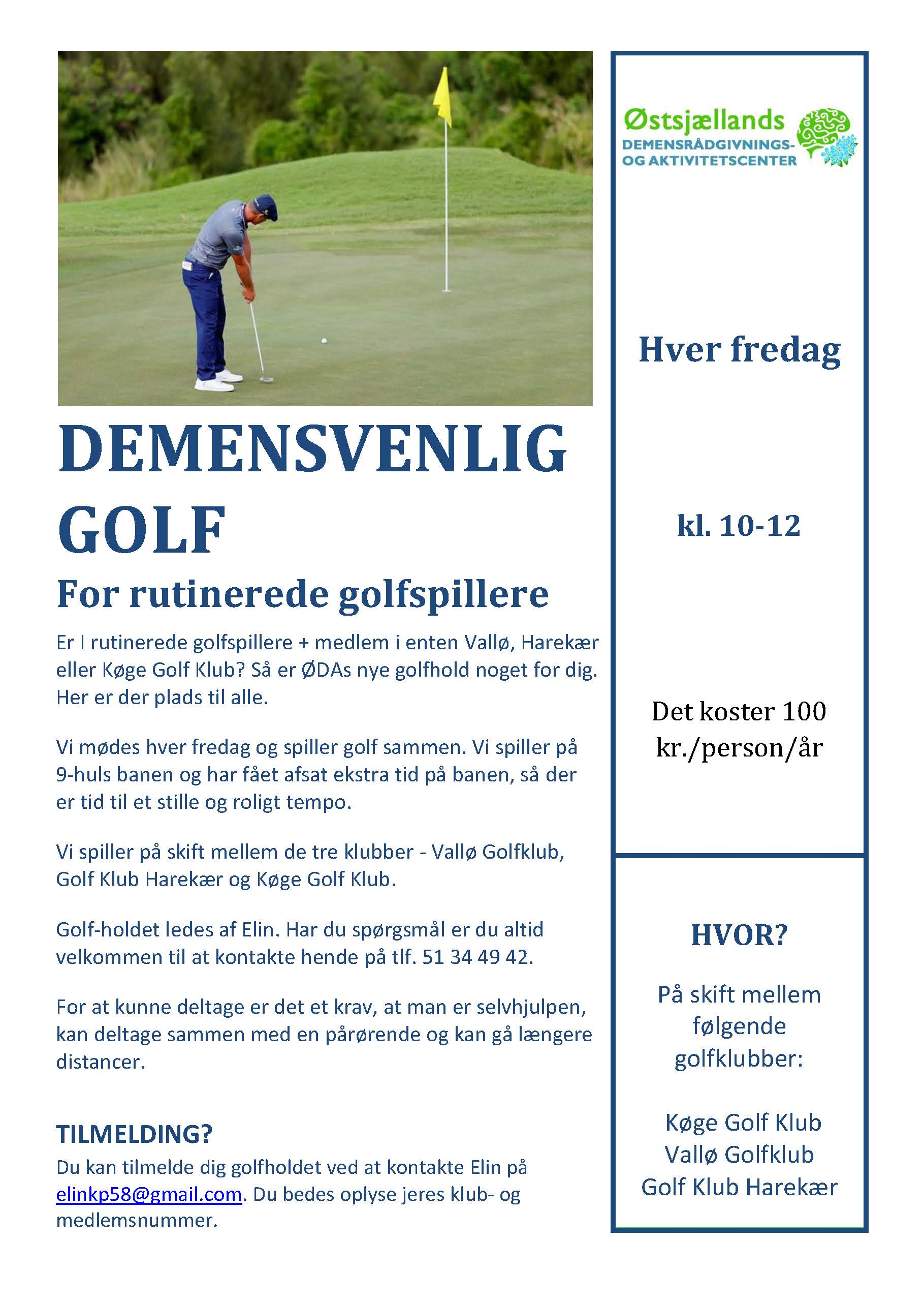 Demensvenlig Golf 2